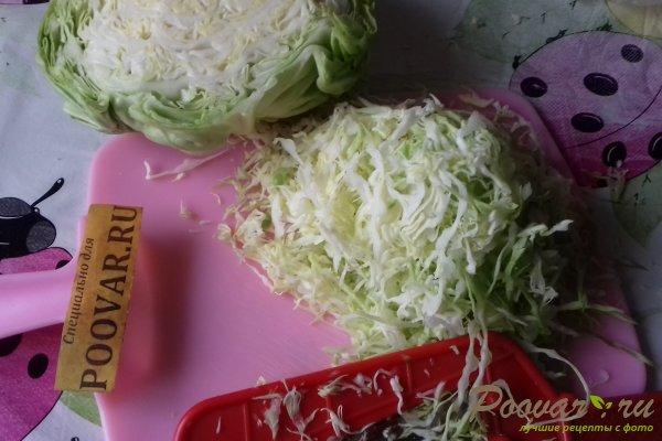 Салат из капусты со свёклой и яблоком Шаг 1 (картинка)