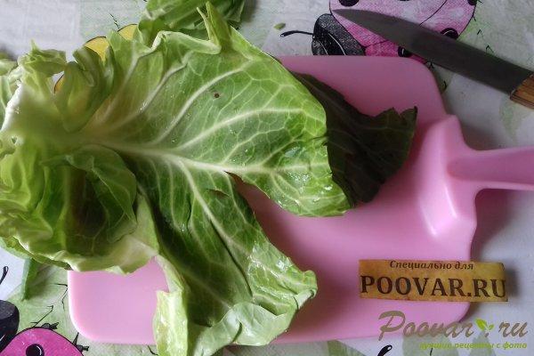 Мясные зразы с молодой капустой Шаг 4 (картинка)
