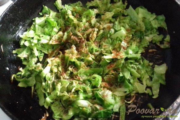 Мясные зразы с молодой капустой Шаг 7 (картинка)
