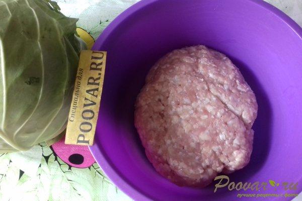 Мясные зразы с молодой капустой Шаг 1 (картинка)