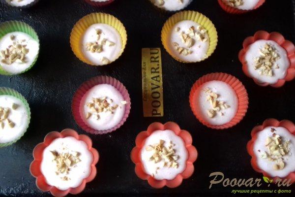 Кексы из белкового теста с орехами Шаг 10 (картинка)