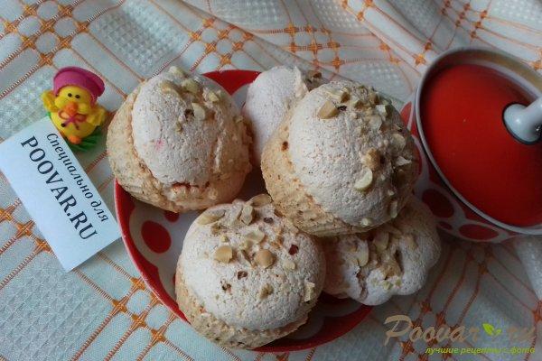 Кексы из белкового теста с орехами Шаг 13 (картинка)