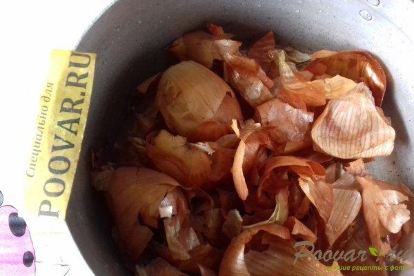 Свиная лопатка в луковой шелухе Шаг 4 (картинка)