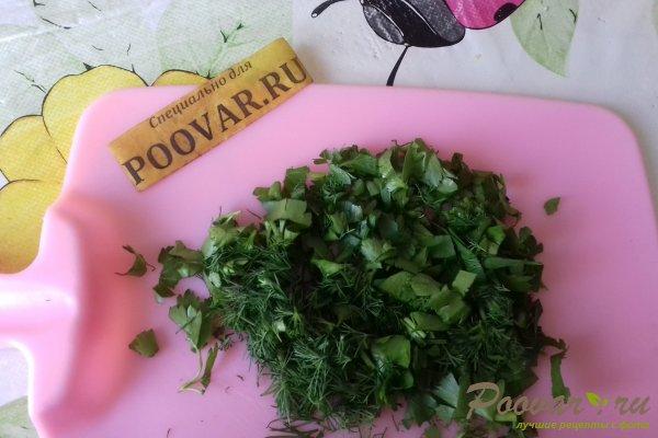 Салат из капусты с сыром, грибами и сухариками Шаг 7 (картинка)