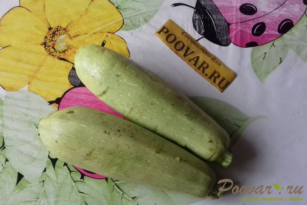 Оладьи из кабачков с картофелем Шаг 1 (картинка)
