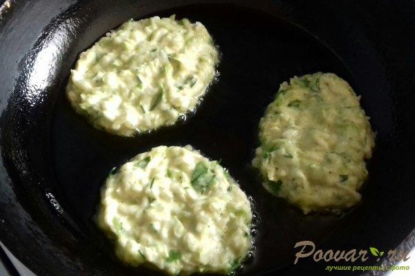 Оладьи из кабачков с картофелем Шаг 13 (картинка)