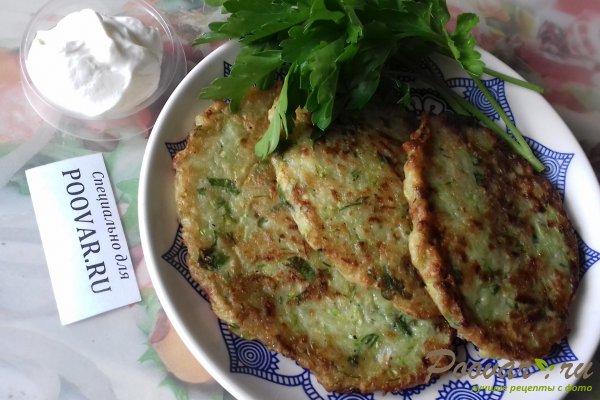 Оладьи из кабачков с картофелем Шаг 16 (картинка)