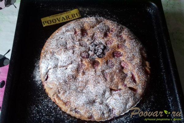 Пирог с клубникой и изюмом Шаг 11 (картинка)