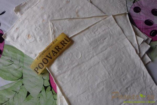 Лаваш с тушёными овощами Шаг 10 (картинка)