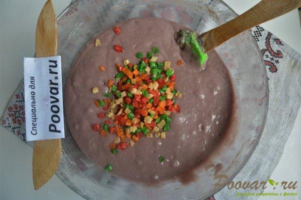 Манник на вишневом соке с ежевикой Шаг 14 (картинка)