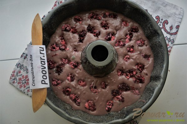Манник на вишневом соке с ежевикой Шаг 17 (картинка)