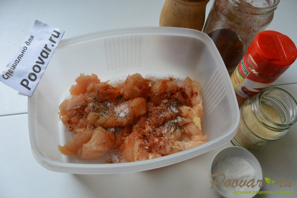 Чечевица с куриным филе и овощами Шаг 2 (картинка)