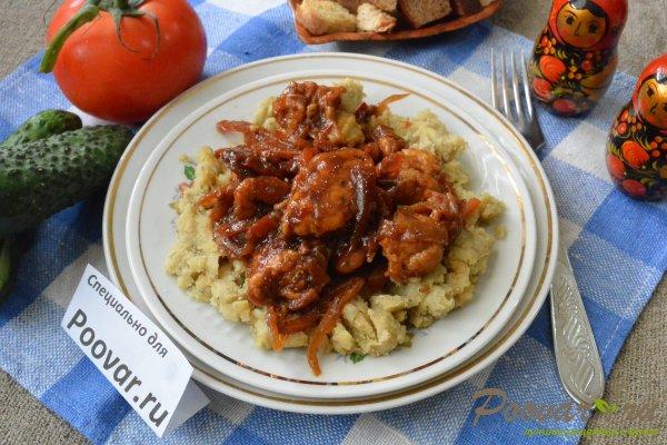 Чечевица с куриным филе и овощами Шаг 15 (картинка)
