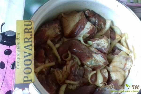 Шашлык из свиной грудинки Шаг 10 (картинка)