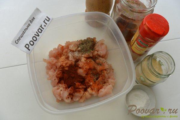 Запеканка из макарон с грибами и мясом Шаг 2 (картинка)