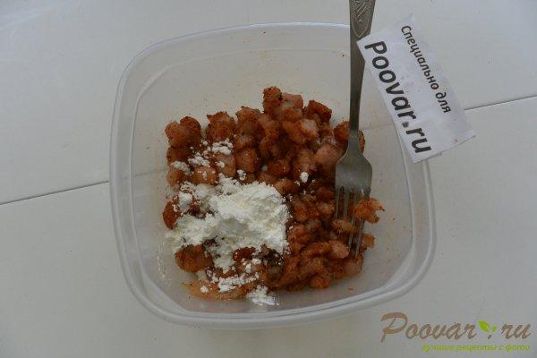 Запеканка из макарон с грибами и мясом Шаг 3 (картинка)