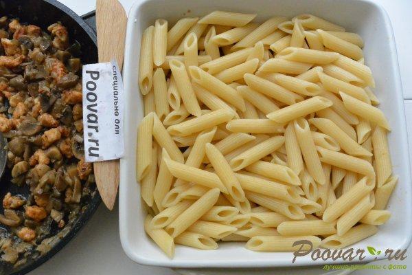 Запеканка из макарон с грибами и мясом Шаг 13 (картинка)