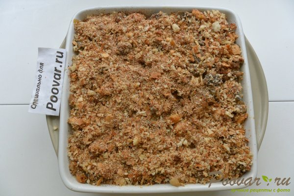 Запеканка из макарон с грибами и мясом Шаг 16 (картинка)