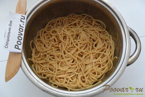 Паста с мидиями в сливочно-чесночном соусе Шаг 13 (картинка)