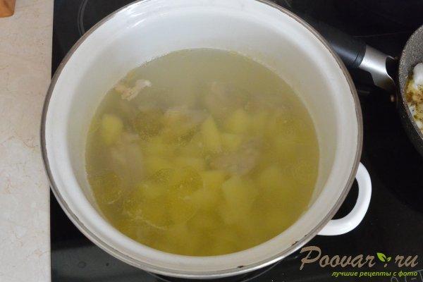 Суп с курицей и фасолью Шаг 8 (картинка)