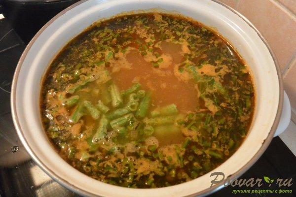Суп с курицей и фасолью Шаг 12 (картинка)