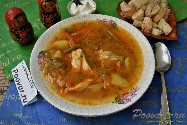 Суп с курицей и фасолью Шаг 14 (картинка)