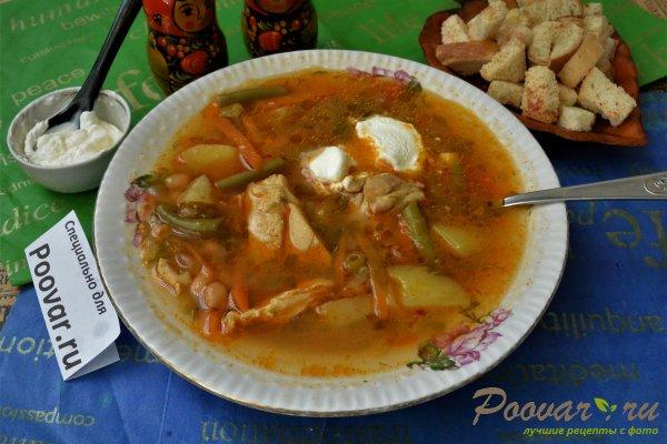 Суп из индейки с вермишелью - рецепт с фото пошагово | 400x600