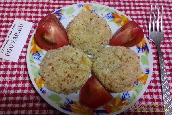 Картофельные шарики с сыром в духовке Изображение