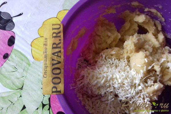 Картофельные шарики с сыром в духовке Шаг 8 (картинка)