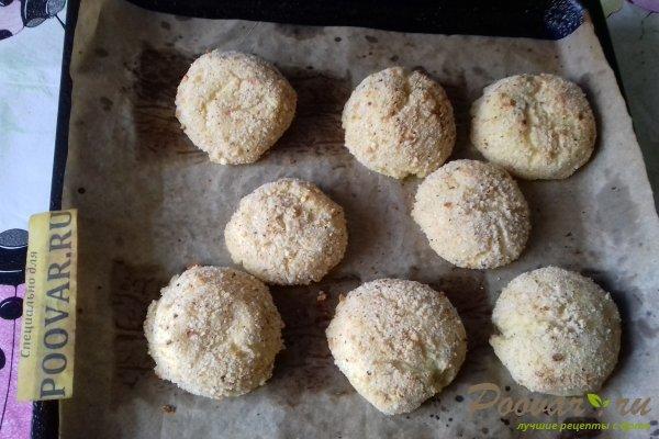 Картофельные шарики с сыром в духовке Шаг 13 (картинка)