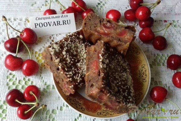 Шоколадный пирог с морковью и ягодами Шаг 15 (картинка)