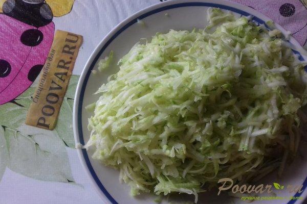 Штрудель с овощами и сыром Шаг 1 (картинка)