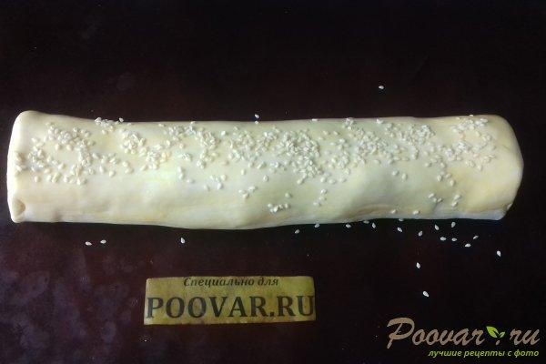Штрудель с овощами и сыром Шаг 17 (картинка)