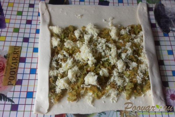 Штрудель с овощами и сыром Шаг 14 (картинка)