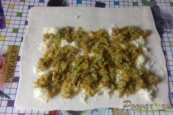 Штрудель с овощами и сыром Шаг 12 (картинка)