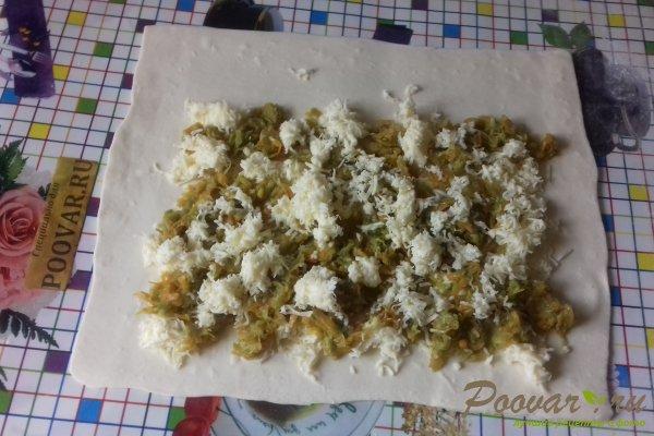 Штрудель с овощами и сыром Шаг 13 (картинка)