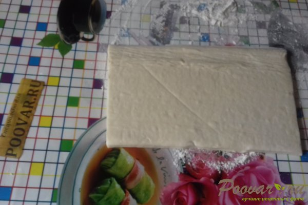 Штрудель с овощами и сыром Шаг 9 (картинка)