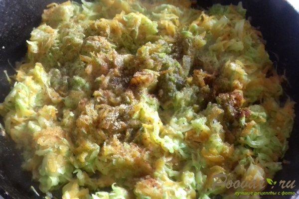 Штрудель с овощами и сыром Шаг 7 (картинка)