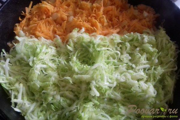 Штрудель с овощами и сыром Шаг 6 (картинка)