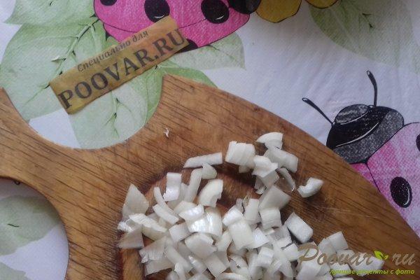 Штрудель с овощами и сыром Шаг 2 (картинка)