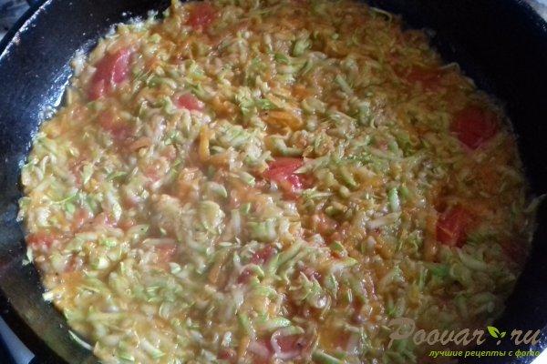 Курица на овощной подушке Шаг 11 (картинка)