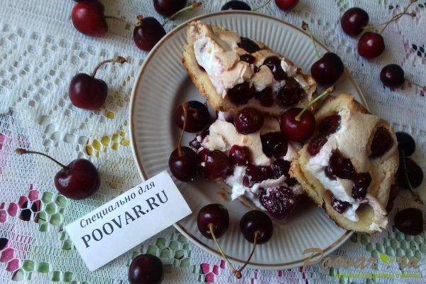 Пирог с безе и ягодами Шаг 17 (картинка)