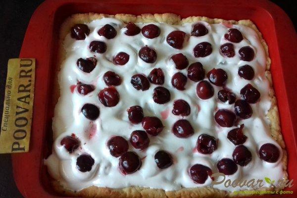 Пирог с безе и ягодами Шаг 14 (картинка)