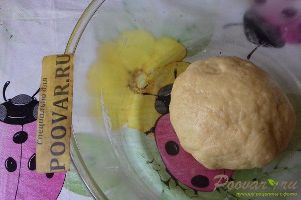 Пирог с красной смородиной и безе Шаг 4 (картинка)