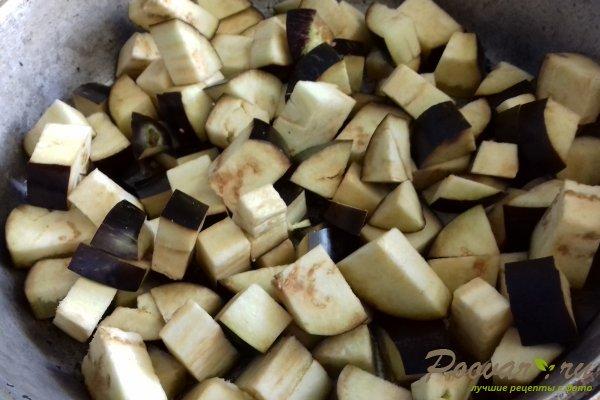 Баклажаны с картофелем Шаг 2 (картинка)