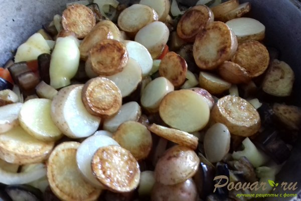 Баклажаны с картофелем Шаг 10 (картинка)