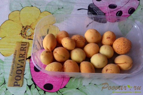 Пирог с абрикосом и персиком Шаг 1 (картинка)