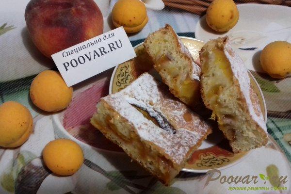 Пирог с абрикосом и персиком Шаг 14 (картинка)