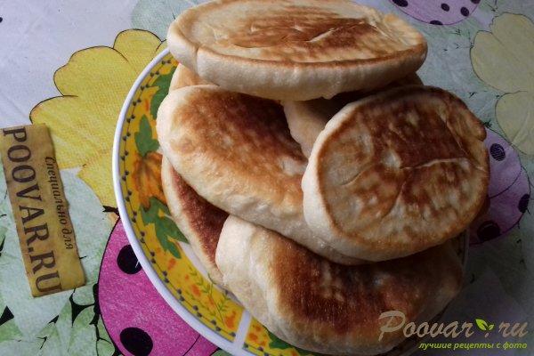 Жареные пирожки с абрикосом из бездрожжевого теста Шаг 12 (картинка)