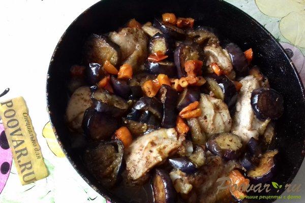 Курица с баклажанами Шаг 15 (картинка)